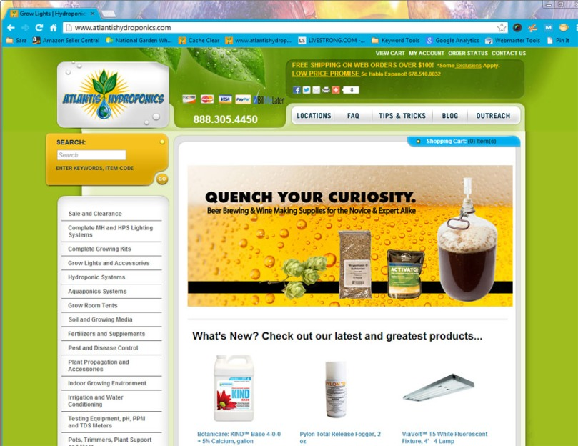 AtlantisHydroponics.com