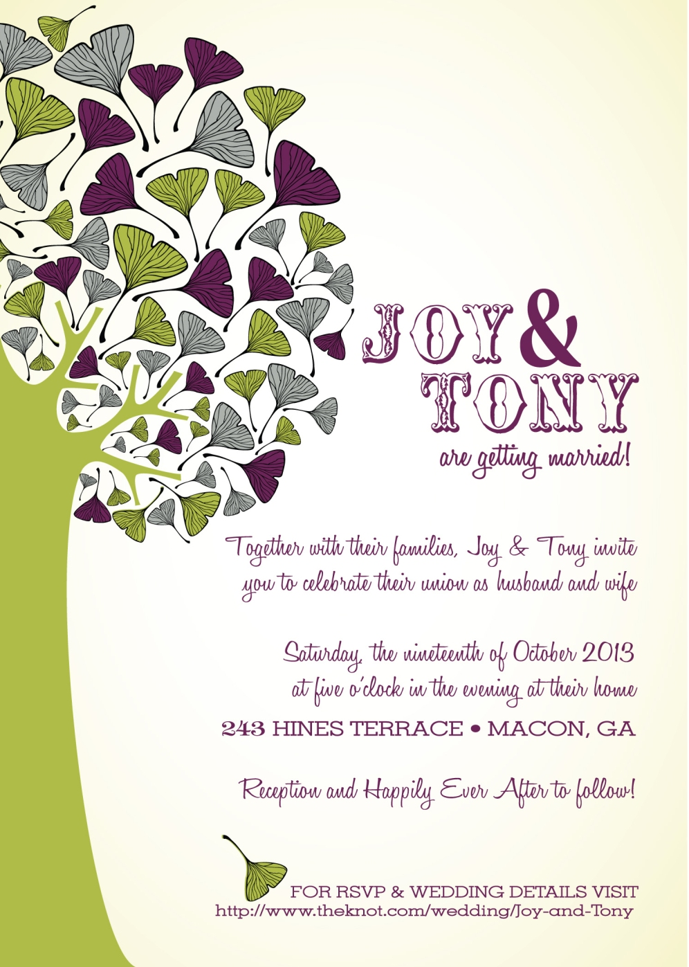Special Events Design for a Wedding