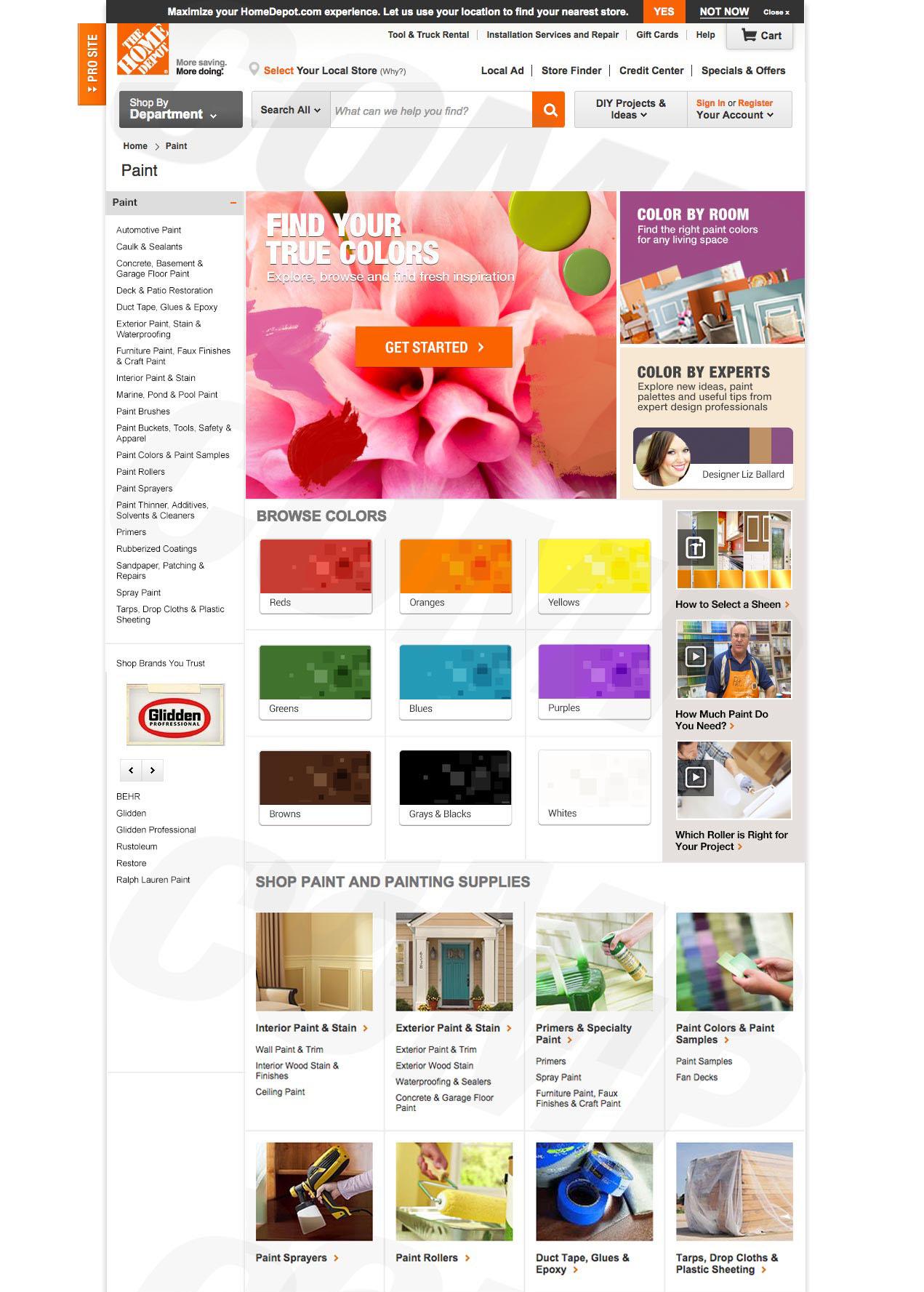 Homedepot.com Paint | sara hope design