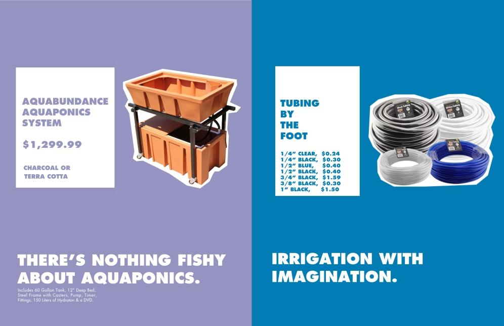 Branding for Atlantis Hydroponics Store Signage