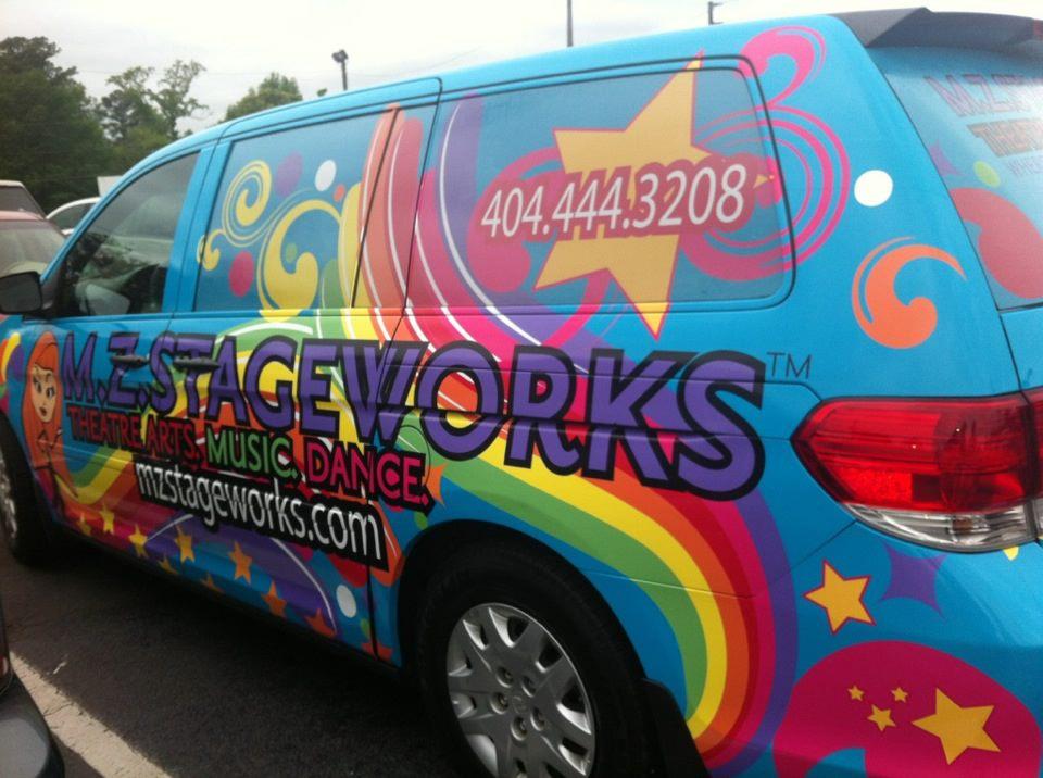 MZ Stageworks Van Wrap