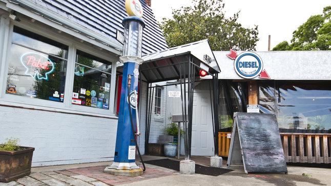 Diesel Filling Station Outdoor Signage
